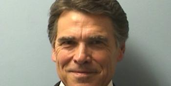 Rick Perry Gets His Mugshot, Fingerprints, And The Media Spotlight