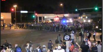 Live Stream: Peaceful Protest In Ferguson Escalates Again Tonight