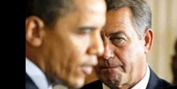 John Boehner's Monster: How Irrational Racist Hatred For Obama Will Destroy The GOP