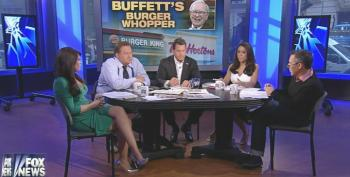 Fox Pundits Heap Praise On Warren Buffet For Helping Burger King Move To Canada