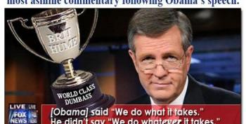 Colbert: Brit Hume Looks Like A Guy Who Knows How To Blow A Rusty Trombone
