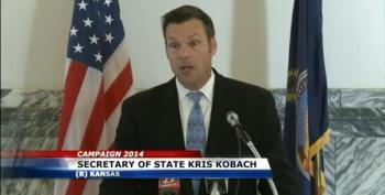 Kobach Decrees Kansas Democrat's Name Must Remain On The Ballot