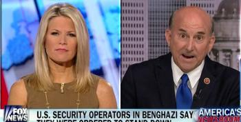 Goober Gohmert Pipes Up With A Brand-New Benghazi! Conspiracy