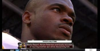 Adrian Peterson Allegedly Hurt Another Son While 'Disciplining' Him