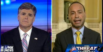 Hannity Imitates Terrorists By Threatening Rep. Gutierrez Over Border Security