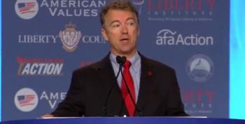 Rand Paul Rants About 'Uppity' Obama At Values Voters Summit
