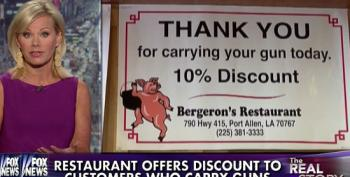 It's 'Take Your Gun Out To Dinner' Day Every Day In Louisiana!