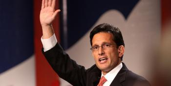 Eric Cantor Goes To His Reward