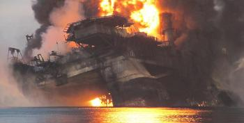 Dick Cheney's Halliburton To Pay Measly $1.1 Billion For Destroying The Gulf Of Mexico, Killing 11