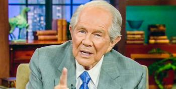 Pat Robertson Tells 80-year-old Worried Over Money: Keep Tithing, Find A Job, Sell Stuff On EBay