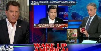 Fox's Bolling Makes Stuff Up To Get Even With Stewart And Colbert Making Fun Of Him