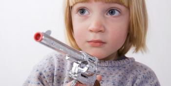Responsible Gun Owner Charged After 7 Y.O. Shoots Herself Playing With Mommy's Gun