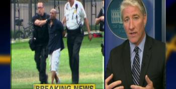 Video: Man Jumps White House Fence, Gets To Front Door