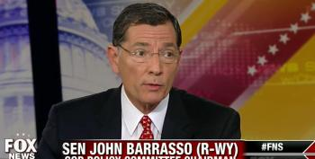 Sen. Barrasso Calls Vote On Holder Replacement During Lame Duck 'Desperate And Partisan'