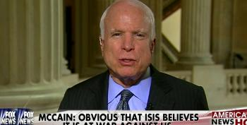 McCain Claims He's 'Vetted' Syrian Rebels Because He Knows Them