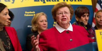 Senate GOPers Filibuster Equal Pay For Women (Again)