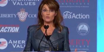Palin Gets The White House Address Wrong While Playing The Christian Conservative Victim Card
