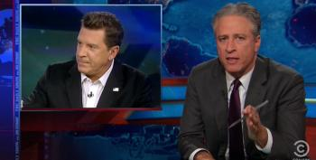 Jon Stewart Rips Fox's 'Latte Salute' Coverage: 'F**k You All And Your False Patriotism'