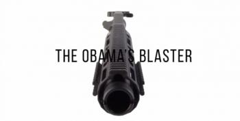California Gun Seller Markets 'Obama's Blaster' Gun Barrel