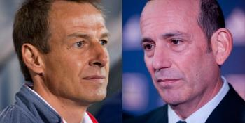 Jurgen Klinsmann Vs. Don Garber At Hell In A Cell