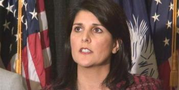 Nikki Haley Defends Confederate Flag At Statehouse Because Not 'A Single CEO' Complained