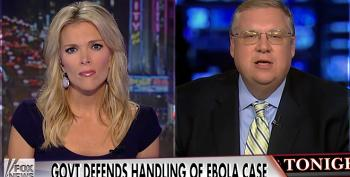 Fox 'Expert' Lies About How You Can Catch Ebola