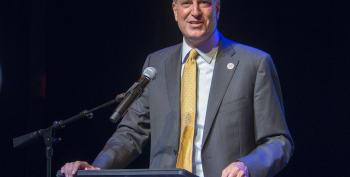 Progressive Champion Bill De Blasio Is Model For Populist Change