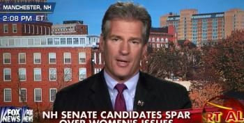 Scott Brown Thinks Voters Don't Care About Women's Issues
