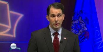 Wisconsin Voter ID Law Big Topic At Walker-Burke Debate