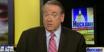Mike Huckabee Tells GOP To 'Grow A Spine,' Hate Harder. Fixated Much, Mike?
