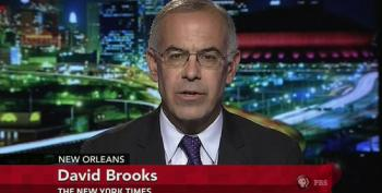David Brooks Pronounces Democratic Voters' Issues 'Stale'. Alrighty Then.