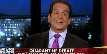 Charles Krauthammer Makes Light Of Conditions At Gitmo