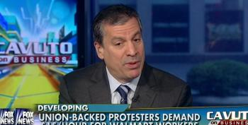 Fox's Gasparino Calls Walmart Protesters 'Paid Agitators' From 'Community Organizing Groups Like ACORN'