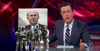 Colbert Takes Apart 'History Buff' Louie Gohmert For Remarks About Gay Massage In The Military