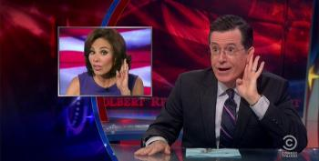 Stephen Colbert Skewers The Right Wing For Their Fearmongering On Ebola