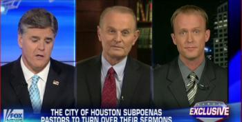Gay Mayor Subpoenas Sermons, Upsets Hannity And Evangelicals