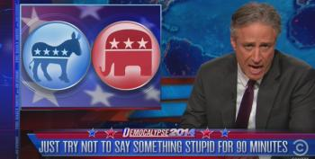 Stewart: Midterms 2014, We've Got Nothing To Fear, But Fear Itself, So We're Going To Go With Fear