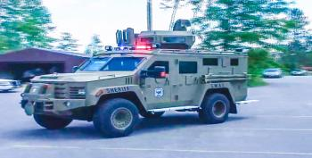Wisconsin Sheriff Sends Military Armored Vehicle To Collect Fines From 75-year-old Man