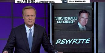 O'Donnell: Nothing Demonstrates Abject Weakness Of 2016 GOP Field Like Romney As Their New Frontrunner