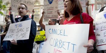 Tom Corbett's October Surprise: Screw Philadelphia Teachers, Get Reelected