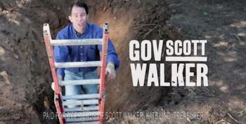 Hmm. Are Republicans Hanging Scott Walker Out To Dry?