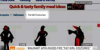 WalMart Forced To Apologize For 'Fat Girl Costumes' Category