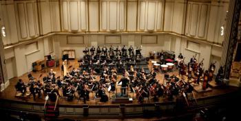 Ferguson Flash Mob Interrupts St. Louis Symphony Orchestra Concert