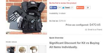 Right-Wing Extremists Selling 'ISIS Hunting Kits,' But They're Missing One Key Item