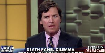 Tucker Carlson Flogs The Old Death Panels Trope To Discourage ACA Enrollment