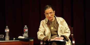 Justice Ginsburg Gets Stent Implant For Coronary Blockage