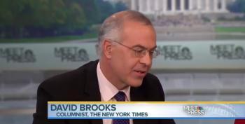 Chuck Todd Pretends David Brooks Is An Expert On Race Relations