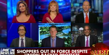 Fox Pundits Opine Over The 'War On Walmart' In The Wake Of Black Friday Protests