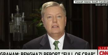Lindsey Graham Calls House GOP Benghazi Report 'Full Of Crap'