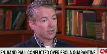 Rand Paul Doesn't Know How To Feel About Ebola Quarantines
